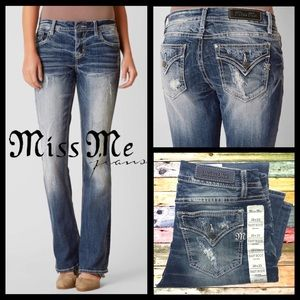 Miss Me Select Easy Boot Mid-Rise Jeans 28x33 (29)
